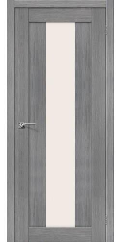 Межкомнатная дверь 3D со стеклом Порта 25 3д Грей