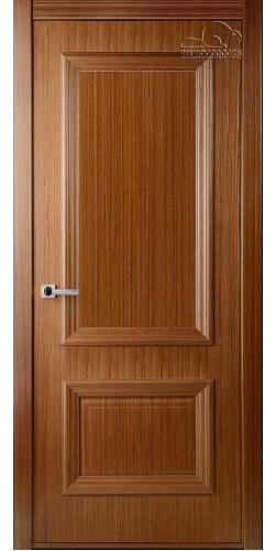 Дверь шпонированная глухая Франческа орех
