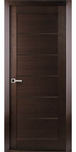 Межкомнатная дверь шпонированная Мирелла ПГ венге