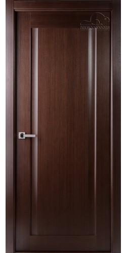 Межкомнатная дверь шпонированная Ланда ПГ венге