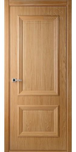 Дверь шпонированная глухая Франческа дуб