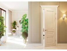 Двери окрашенные эмалью