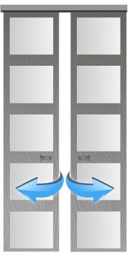 Раздвижные двери-купе