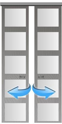 Двери купе (раздвижные-откатные)