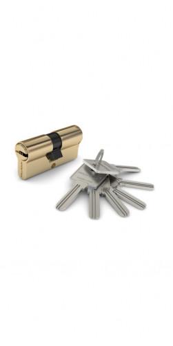 Цилиндр с ключом золото