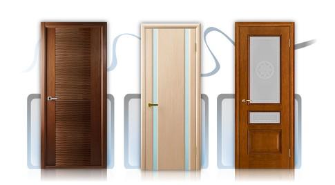 Шпонированные двери ульяновского производства всегда в наличии!