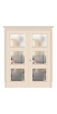 Двустворчатая дверь Классико 17.3 ДО Ivory