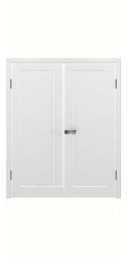 Двустворчатая дверь Порта ДГ белый