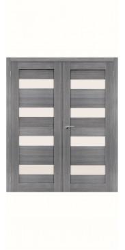 Двустворчатая дверь Порта 23 ДО Grey veralinga