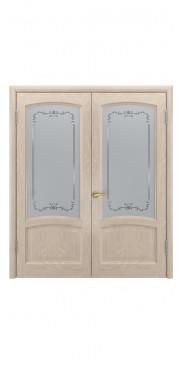 Двустворчатая дверь Клио ДО Antik