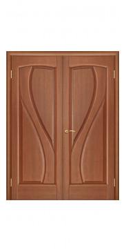 Двустворчатая дверь Мария ДГ темный анегри