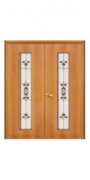 Двустворчатая дверь 23 Х ДО миланский орех