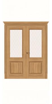 Двустворчатая дверь Классико-33 ДО Anegri Veralinga
