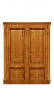 Двустворчатая дверь Корсика ДГ дуб антик
