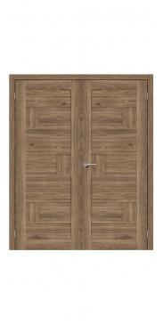Двустворчатая дверь Легно-38 ДГ Original Oak