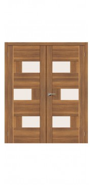 Двустворчатая дверь Легно 39 ДО Golden Reef