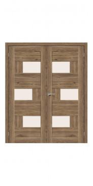 Двустворчатая дверь Легно-39 ДО Original Oak