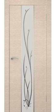 Гранд беленый дуб белое стекло