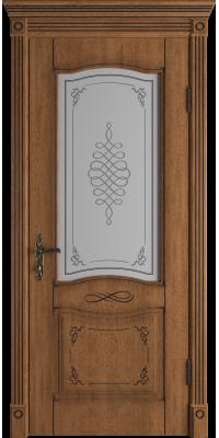 Межкомнатная дверь экошпон Vesta Honey Classic PB Art Cloud