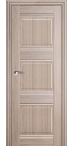 Дверь межкомнатная экошпон глухая 3Х цвет орех пекан