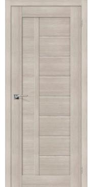 Дверь экошпон Порта-26 ПГ Cappuccino Veralinga