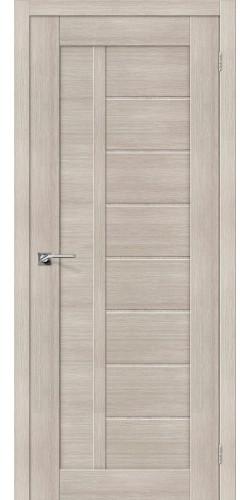Межкомнатная дверь экошпон Порта-26 ПГ Cappuccino Veralinga