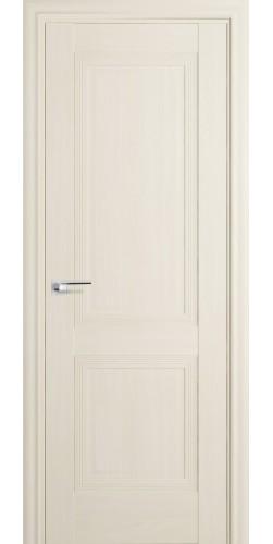 Межкомнатная дверь экошпон 80Х ПГ белый ясень