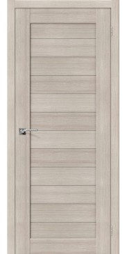 Дверь экошпон Порта 21 ПГ Cappuccino veralinga