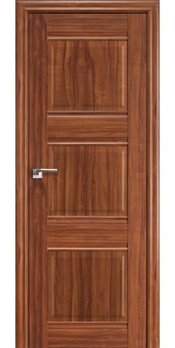 Дверь межкомнатная экошпон глухая 3Х цвет орех-амари