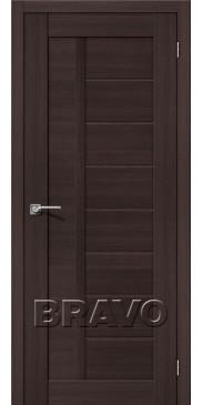 Дверь экошпон Порта-26 ПГ Wenge Veralinga