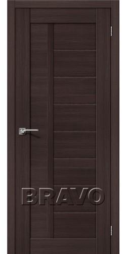 Межкомнатная дверь экошпон Порта-26 ПГ Wenge Veralinga
