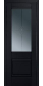 Дверь Профиль дорс 2U ПО черный матовый