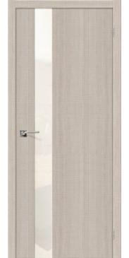 Дверь экошпон Порта 51 Cappuccino Crosscut WP
