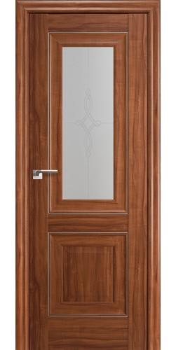 Межкомнатная дверь экошпон 28Х орех амари