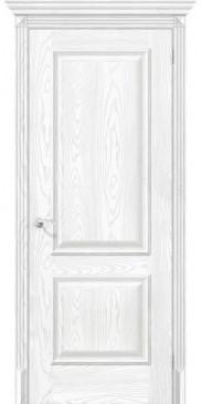 Дверь экошпон Классико 12 ПГ Silver