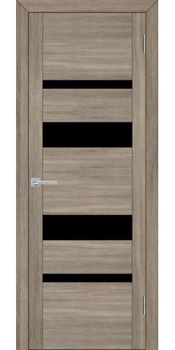 Межкомнатная дверь экошпон Uberture 30013 серый велюр