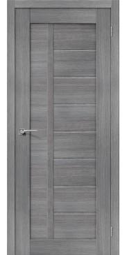 Дверь экошпон Порта-26 ПГ Grey Veralinga