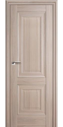 Дверь межкомнатная экошпон глухая 27Х цвет орех пекан