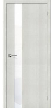Дверь экошпон Порта 51 ПО Bianco Crosscut WW