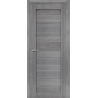 Дверь межкомнатная экошпон глухая Порта 21 цвет Grey veralinga