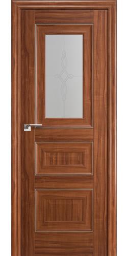 Межкомнатная дверь экошпон 26Х орех амари