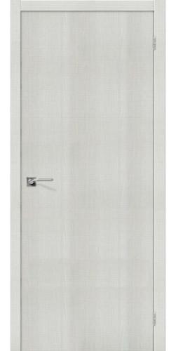Межкомнатная дверь экошпон Порта 50 ПГ Bianco Crosscut