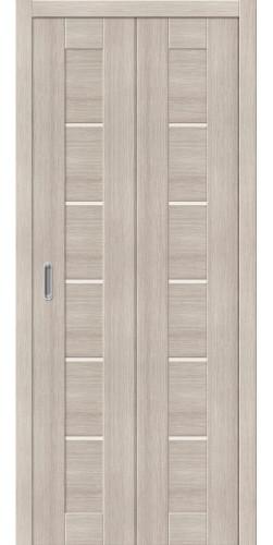 Межкомнатная дверь экошпон Порта 22 ДС cappuccino veralinga
