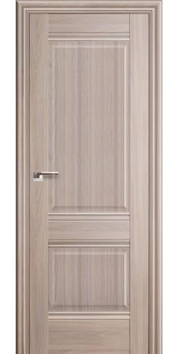 Межкомнатная дверь экошпон 1 Х ПГ орех пекан