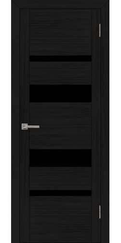 Дверь межкомнатная Uberture 30013 со стеклом экошпон цвет шоко велюр