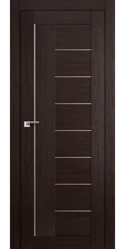 Межкомнатная дверь экошпон 17Х венге мелинга