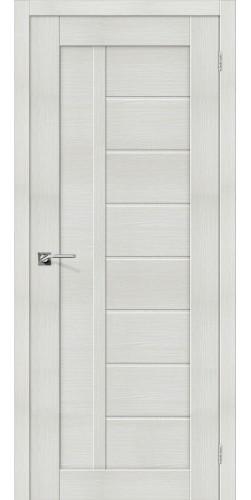 Межкомнатная дверь экошпон Порта-26 ПГ Bianco Veralinga