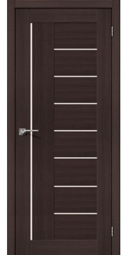 Дверь экошпон Порта 29 ПО Wenge veralinga