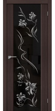 Дверь экошпон S 13 print Wenge Veralinga