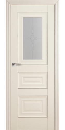 Межкомнатная дверь экошпон 26Х белый ясень